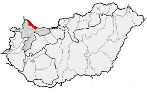 Szigetköz a térképen